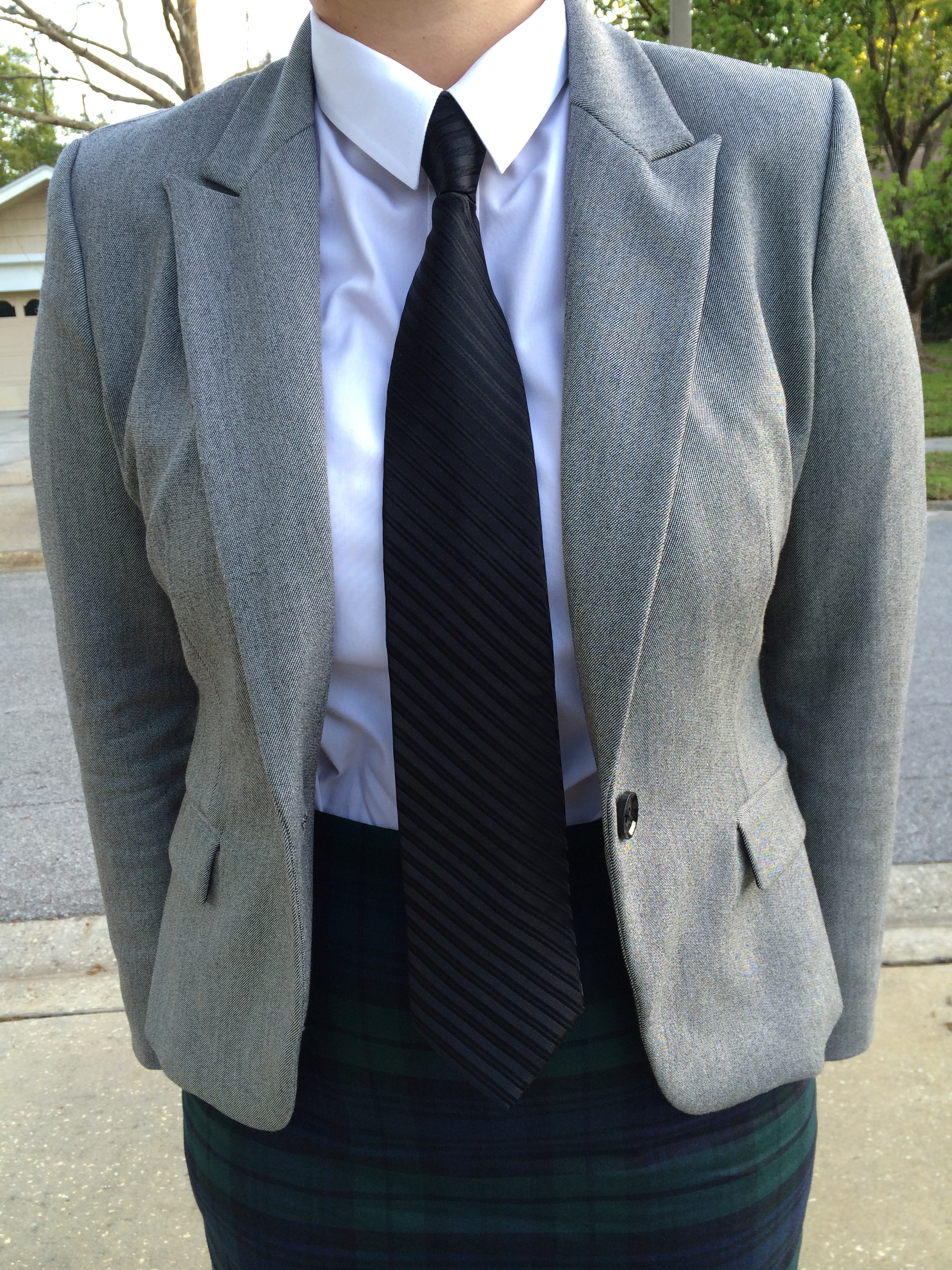 Suit and tie style rehab blog for Express shirt and tie